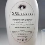 XXL Lashes Foam Cleanser exempt d'huile et d'alcool mousse nettoyante cils, 200 ml taille du Salon